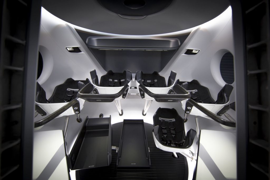 SpaceX Crew Dragon Design