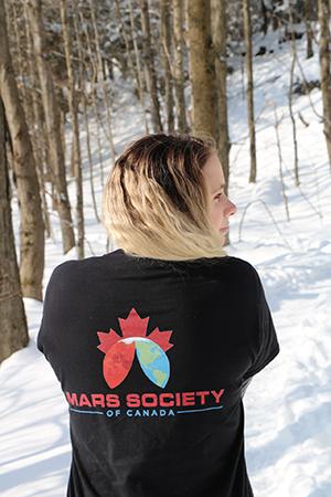 Mars Society of Canada t-shirt