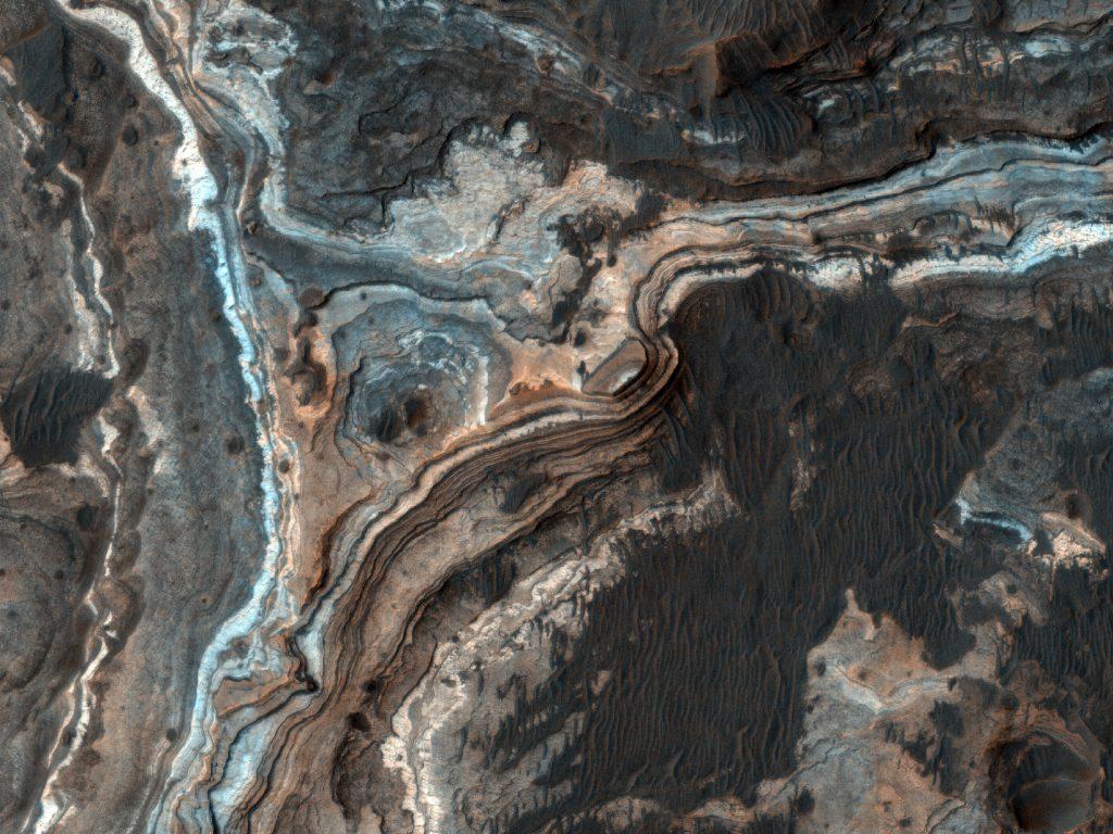Mars geography NASA