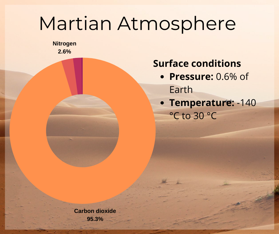 Martian Atmosphere
