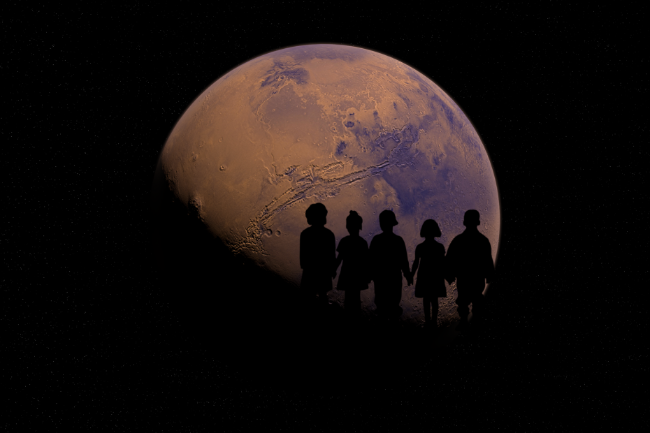 Children and Mars